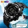 Спортивные часы SKMEI 1180 Чёрные с шагомером и пульсометром