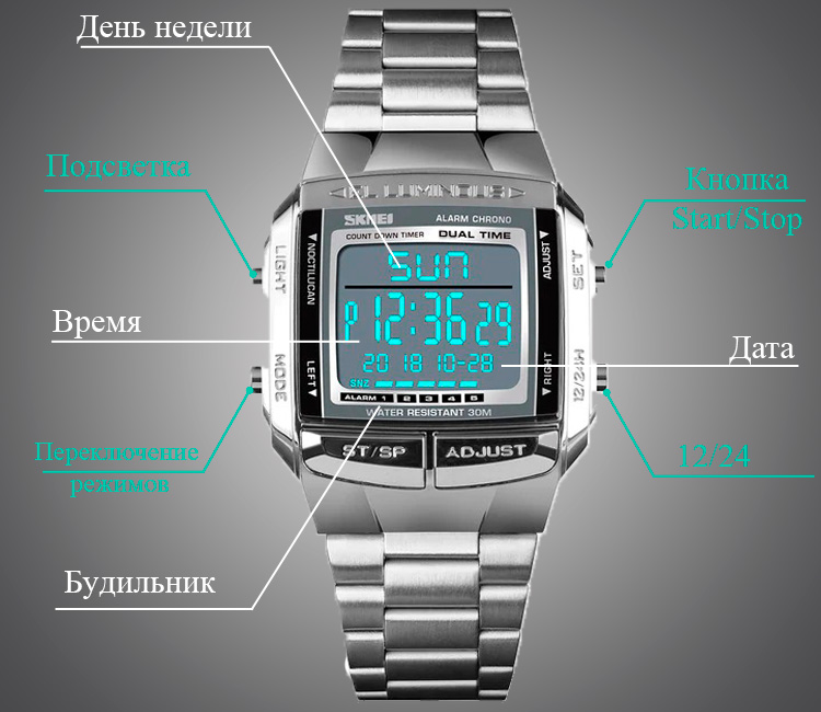часы SKMEI 1381
